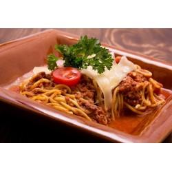 Húsos - paradicsomos spaghetti