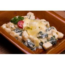 Spenótos-gorgonzolás gnocchi