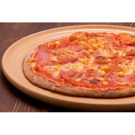 Sonkás-kukoricás gyerekpizza (24cm)