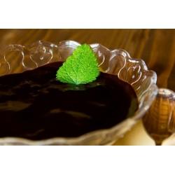 Mascarponekrém mandulás piskótával, házi eperöntettel vagy forró csokoládékrémmel