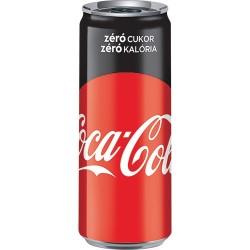 Coca Cola Zero dobozos 0,33l